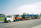 Yarbrough Transfer Trucks at work 04